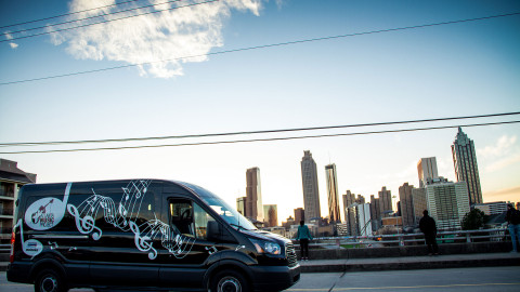 Vote to name the Atlanta Music Project Van!