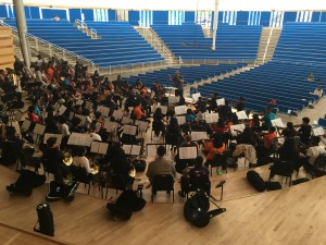 Robert Spano conducts the Take a Stand Orchestra in Aspen, Colorado.