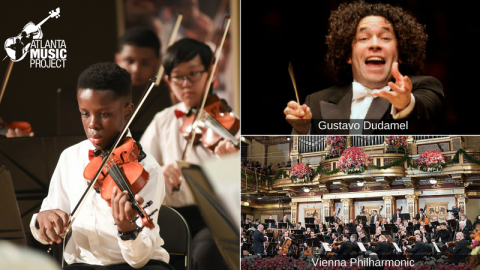AMP Musicians Head to Mexico City for Orchestra Festival with Vienna Phil & Dudamel