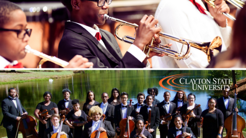 3/15/18: AMP Orchestra Performs with Clayton State University Orchestra