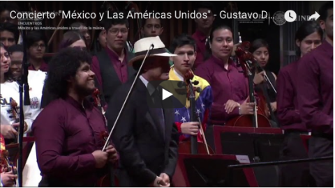 Complete Video: AMP Young Musicians Perform with Gustavo Dudamel