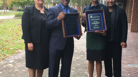 AMP Co-Directors win Spelman College Award