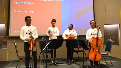 AMP Young Artists Perform at Bank of America Award Ceremony