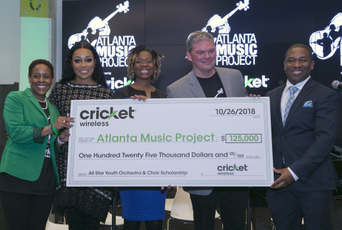 Cricket Wireless & Monica Partner to Support AMP Scholarships