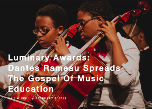 Read ArtsATL.org's feature profile here about Dantes Rameau and the Atlanta Music Project by journalist Gail O'Neill.