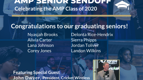 PRESS RELEASE: Cricket Wireless President CEO John Dwyer to Send Off AMP 2020 Seniors