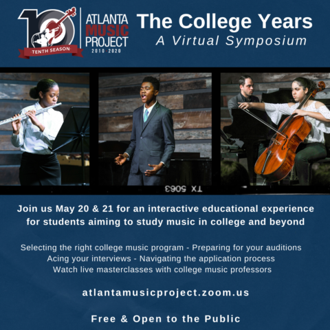 The College Years Virtual Symposium Full Schedule