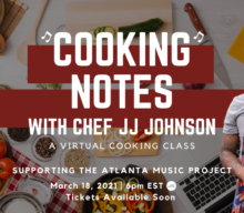 SAVE-THE-DATE! Cooking Notes Returns with Chef JJ Johnson