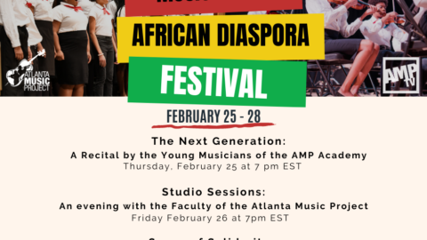 YOU'RE INVITED: Music of the African Diaspora Festival